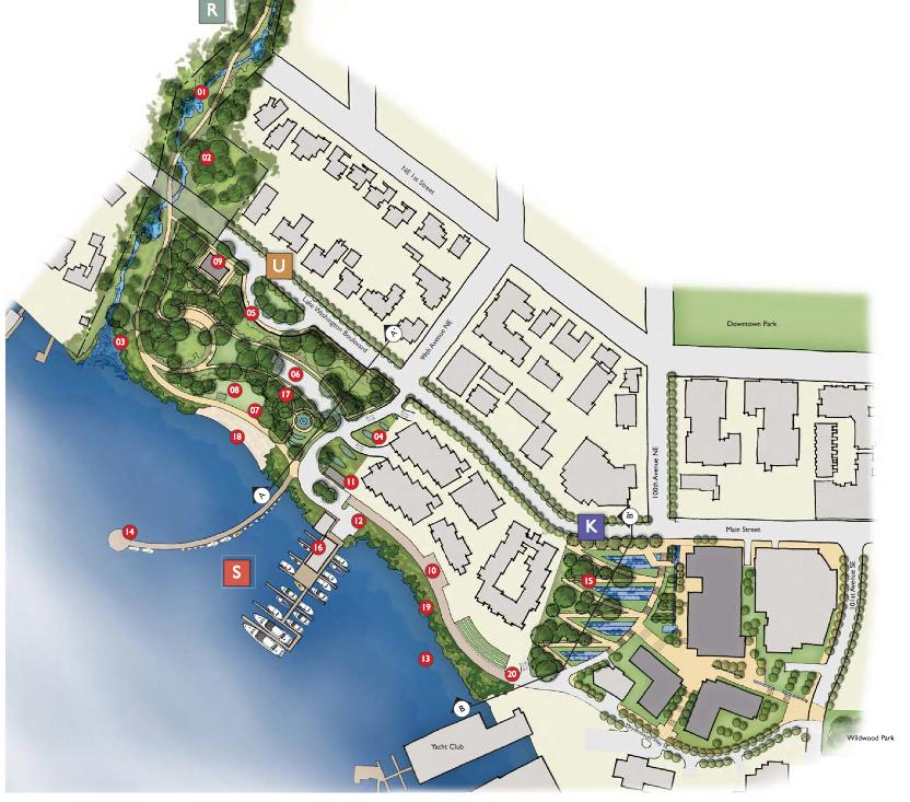 A rendering of Bellevue's Meydenbauer Park expansion