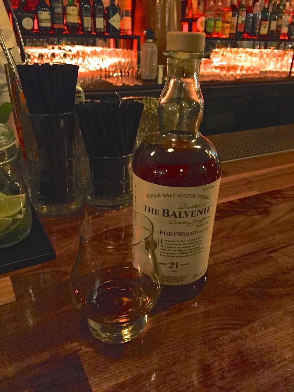 A fine rare Scotch at Bottle & Bull