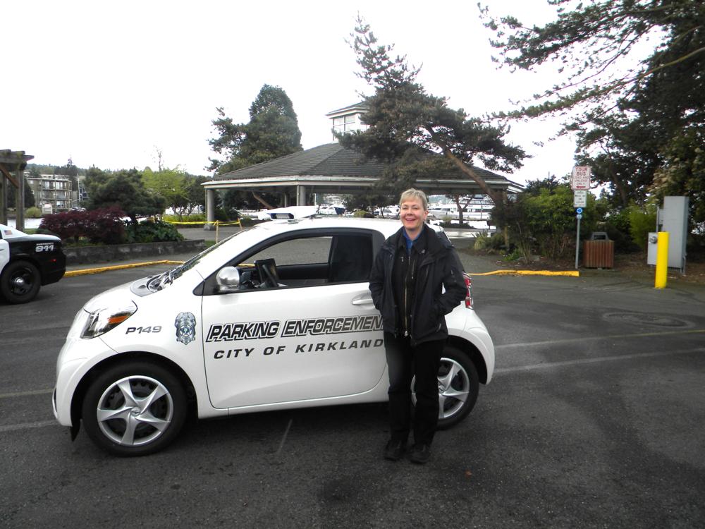 Parking Enforcement Officer Collins