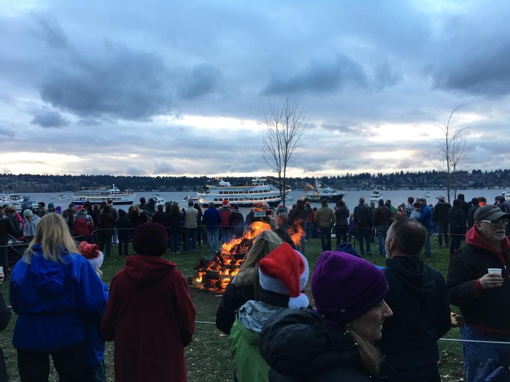 Caroling, kayaks and Christmas ships