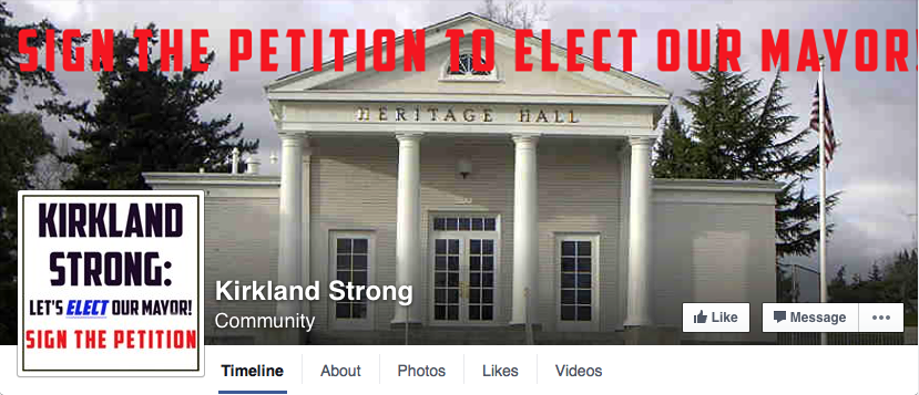 Image from Kirkland Strong Facebook page.
