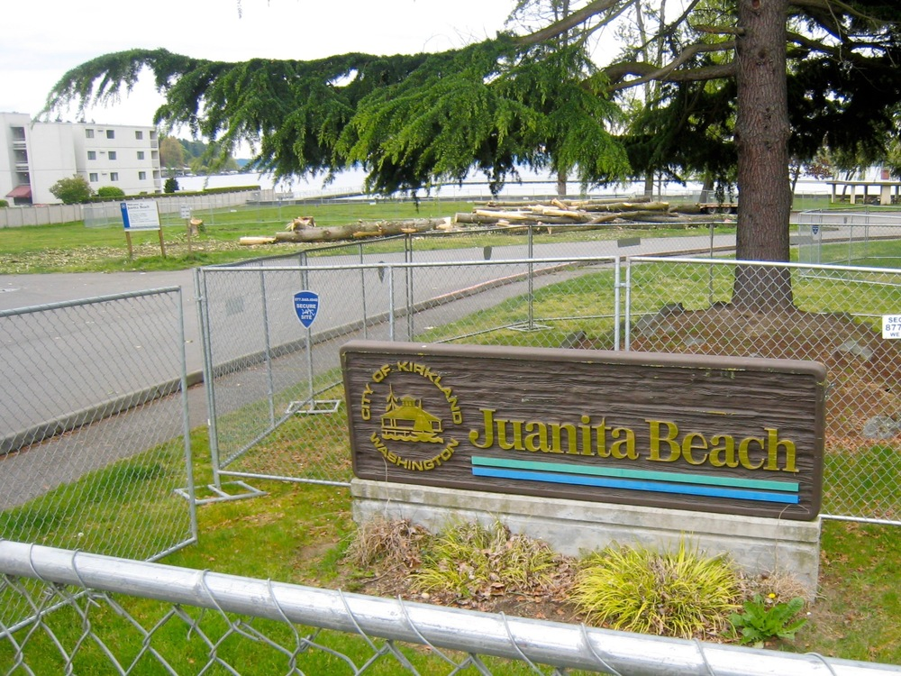 Juanita Beach Park, May 2010