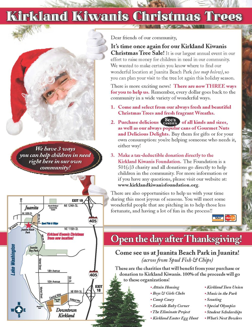 Kiwanis Club Of Kirkland Christmas Tree Lot Opens November 25 ...