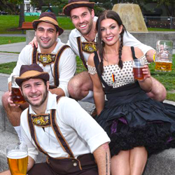 14.   Kirkland Oktoberfest   is Seattle's authentic tradition featuring 10,000 guests celebrating with cold beer, hot sausages and sizzling oompah music. Prost!