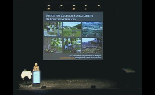 Listen to Professor Nassauer's 2011 IFLA Keynote speech
