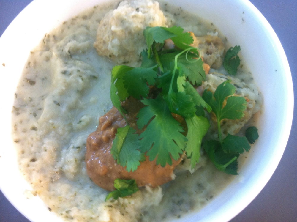 Crockpot coriander chutneyGOOP soupswith curry chicken balls are dead simple to make; very hearty, flavourful, and creamy dairy-free soups for a week of meals.