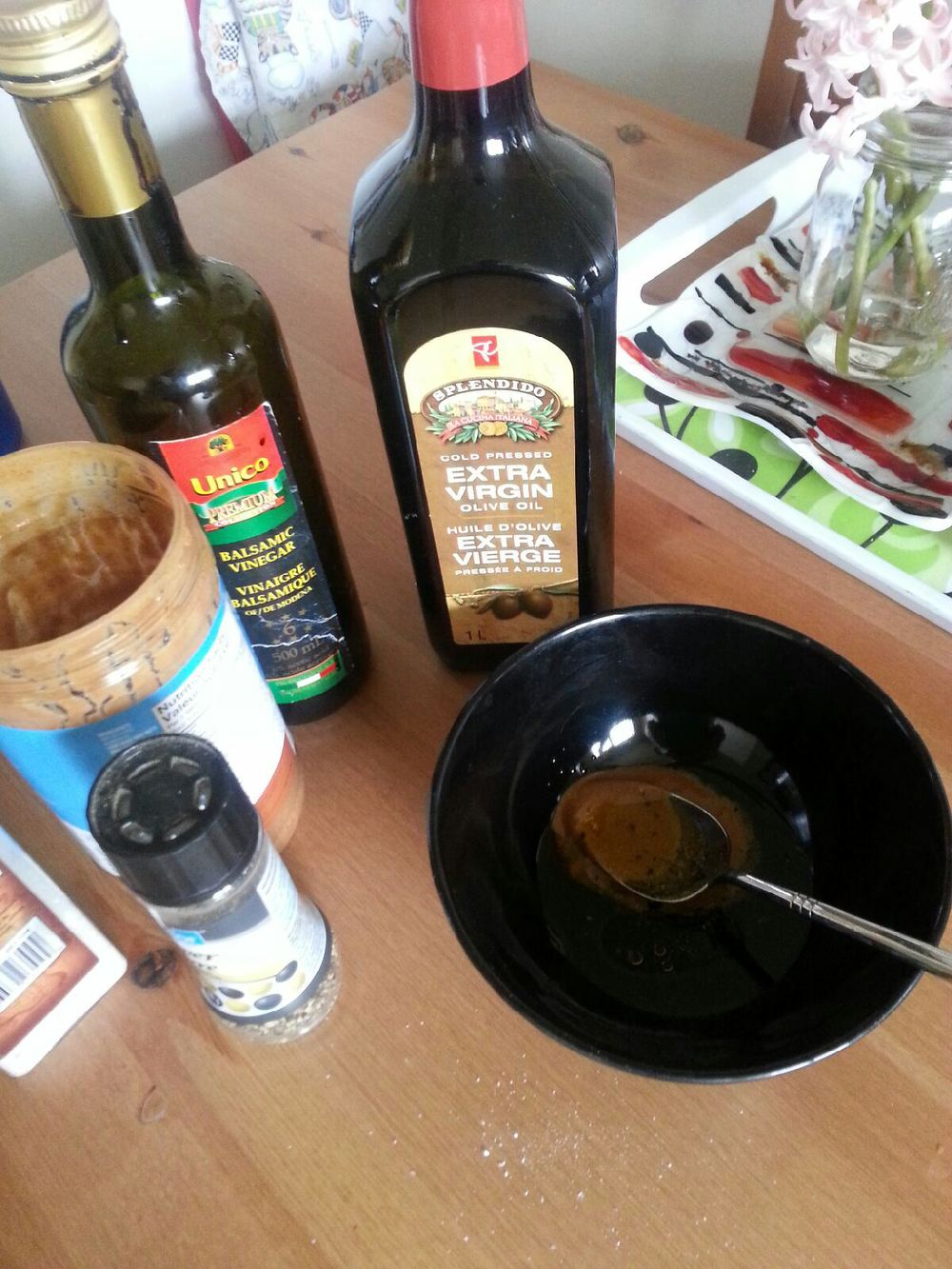 balsamic almond butter dressing ingredients