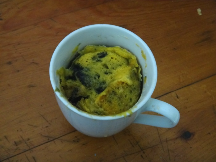 Missing blueberry pancakes? Glennis' super easy blueberry mug muffin can be made in a few minutes in the microwave. Perfect for a weekday breakfast or quick snack.