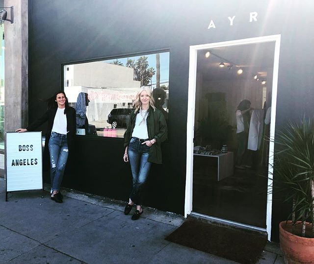 Drop in on our babes today @ayr Venice 1306 Abbott Kinney Blvd. ⚡️