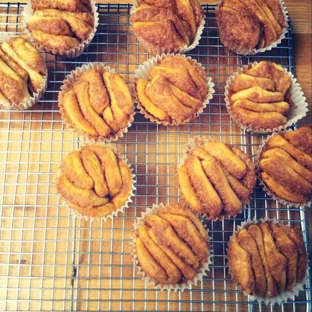 Fresh  monkey bread #fairlawn  #nj  #shopsmall  #yum  #zlicious  #monkeybread