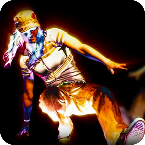 B-Girl End Title Sequence Image