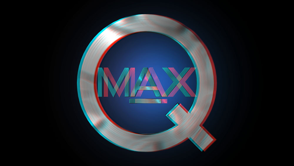 MAX-Q Corporate Logo - Stereoscopic Version