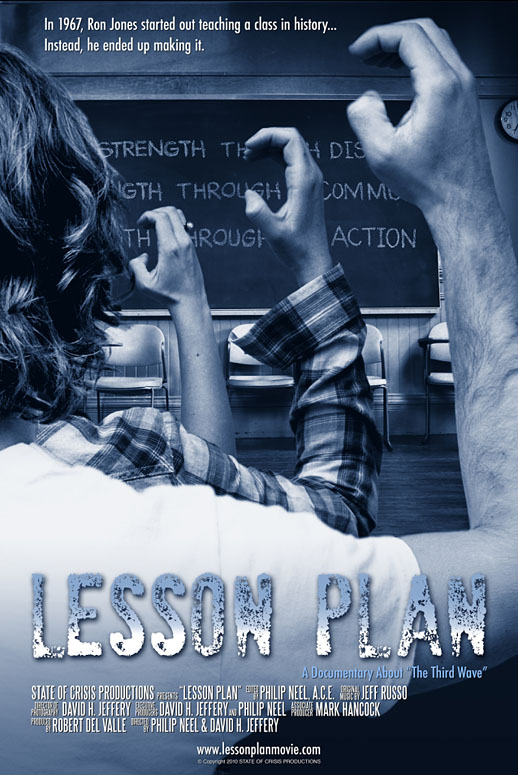 """Lesson Plan"" Feature Documentary Poster"