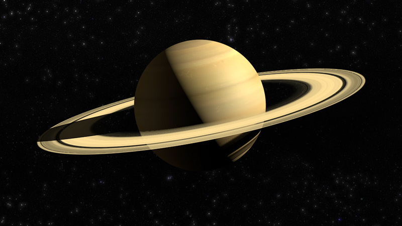 Saturn animation created for  Anti-News