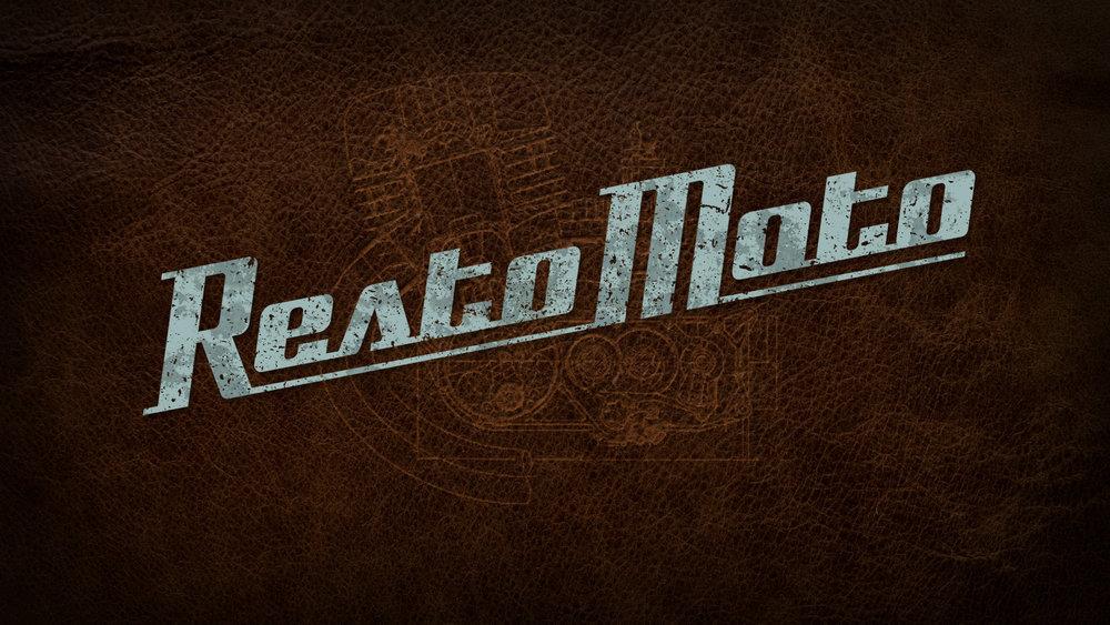 """RestoMoto"" Reality Show Logo"