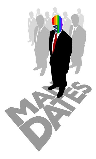 Mandates - Original Musical Logo & Poster Design