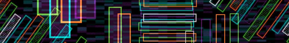 """Splunk .conf18 Main Stage Graphic """"City Data 1"""""""