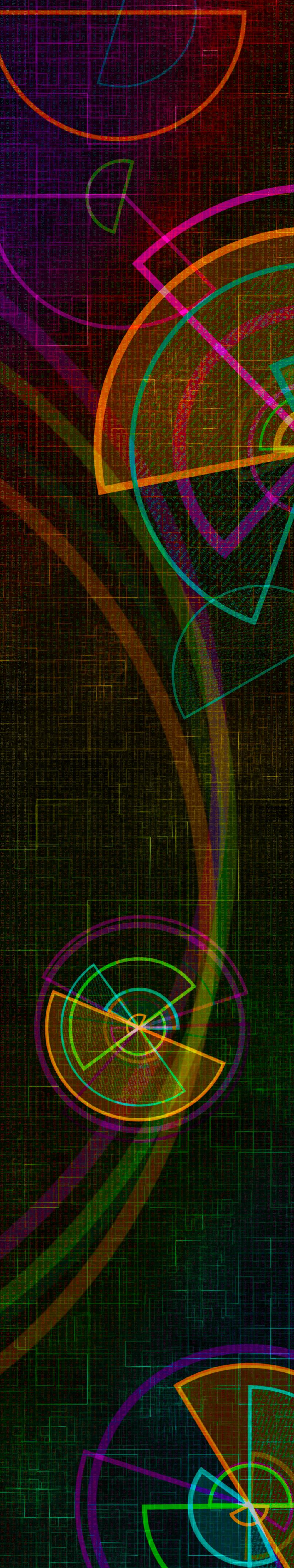 "Splunk .conf18 Event Booth Graphic ""Radar Data """