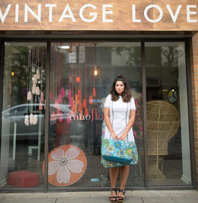 """change is hard at first, messy in the middle, and gorgeous at the end."" as the final week of vintage love starts to wrap up i'm overwhelmed with emotions... thank you everyone for popping in, checking in, and sending love."
