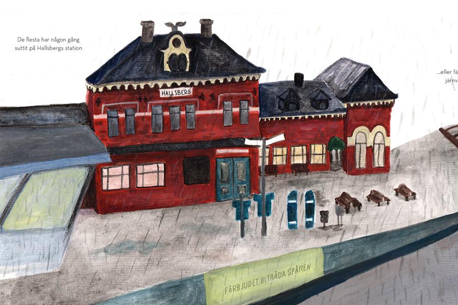 Nu är en bildberättelse om Hallsberg uppladdad i portfolion. Kolla in här.