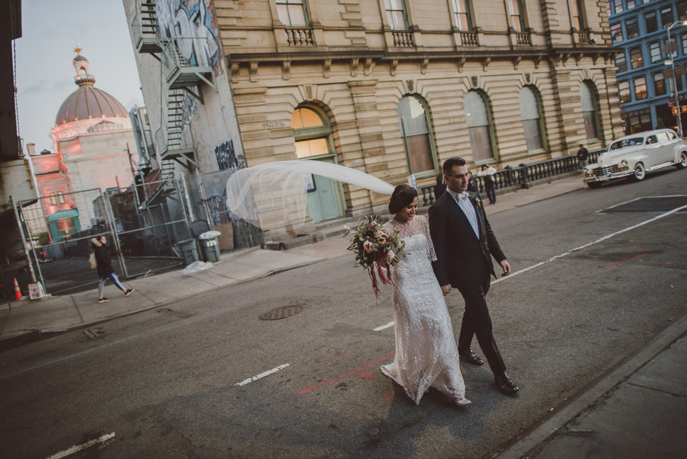 JESSICA + CLAUDIO - THE WEYLIN : WILLIAMSBURG, NY