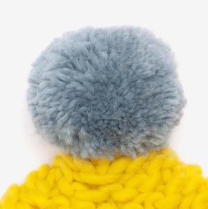 f70641f3fd2 Yellow   Blue Bobble Hat — gillyb