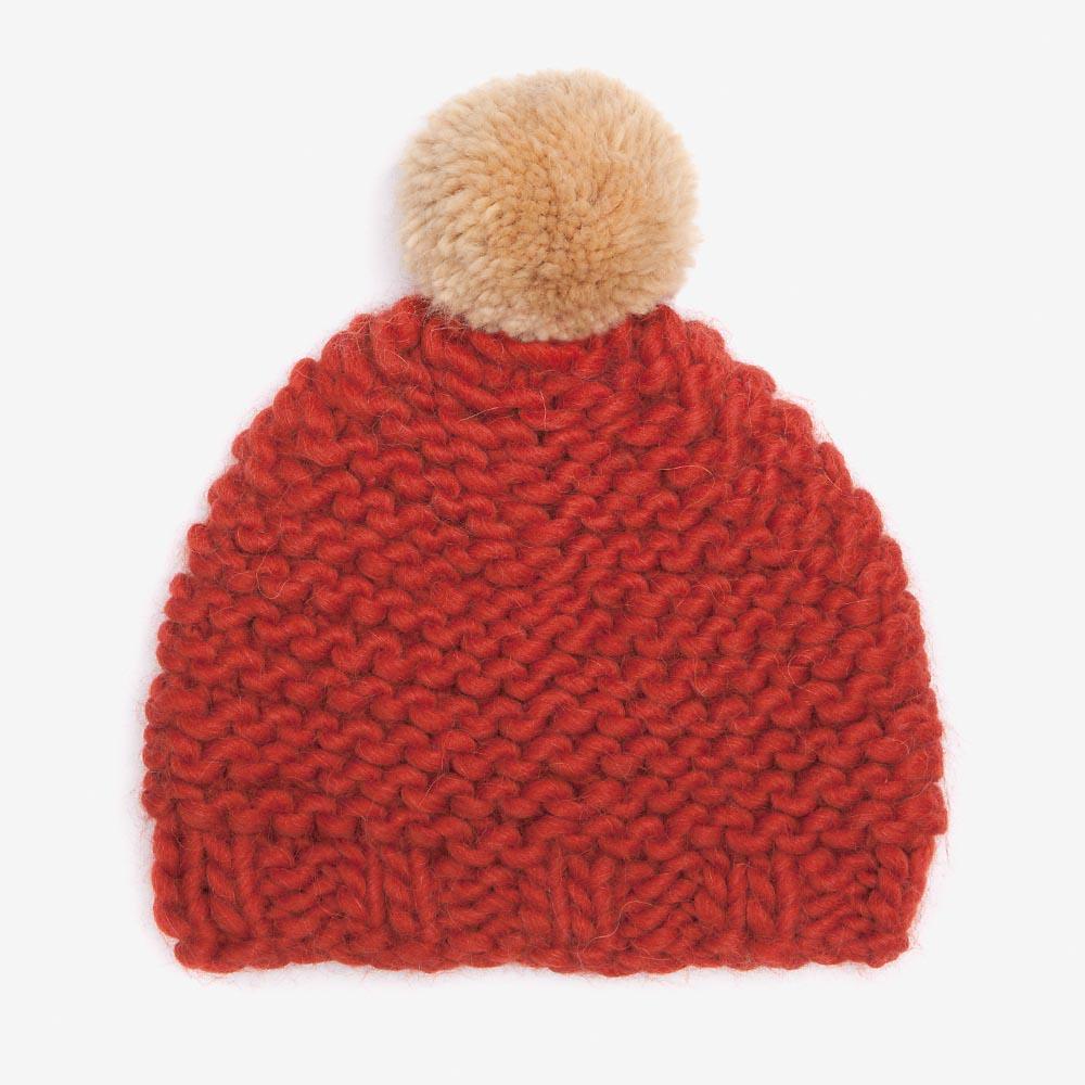7ce0222d48d Tomato   Camel Bobble Hat — gillyb