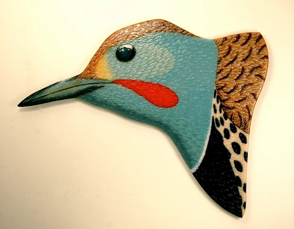 "Flicker Head  48"" x 37"""