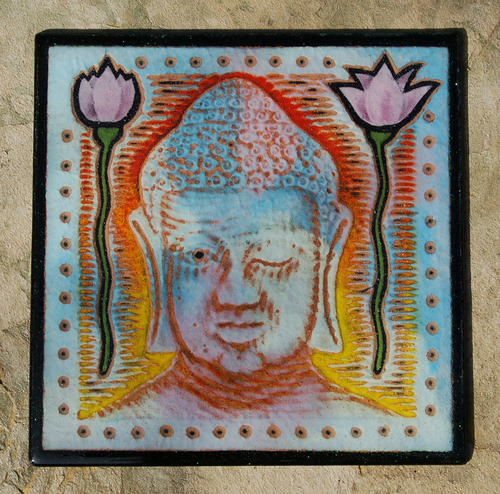 "You Woke the Buddha, 12"" x 12"""