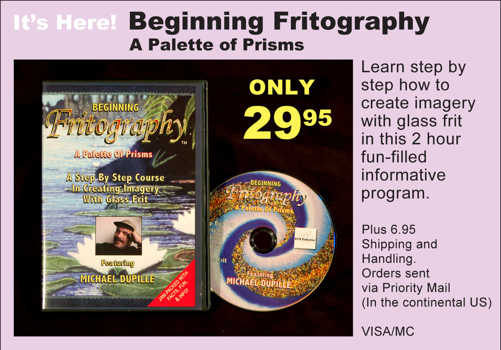 The original Beginning Fritography DVD!     Click here to purchase this item!