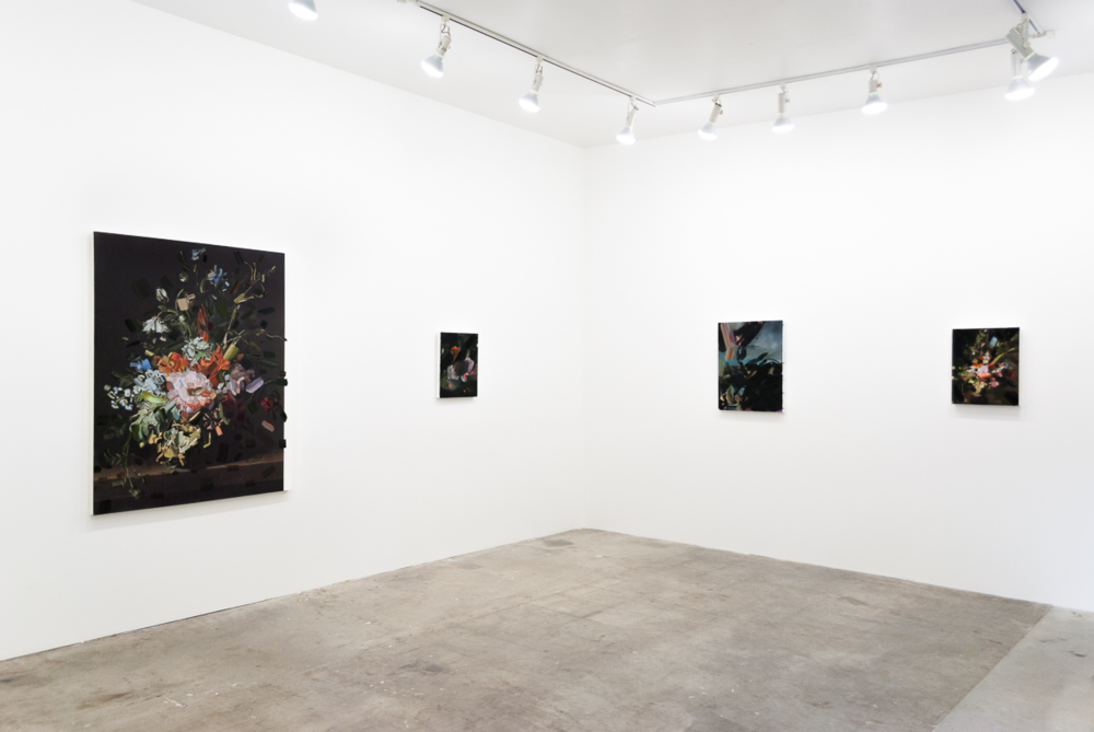 Installation view from Tiffany Calvert at Carl & Sloan Contemporary, May 2015