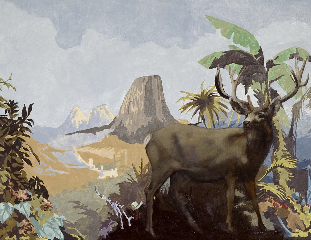 Untitled (Deer and Mesa)
