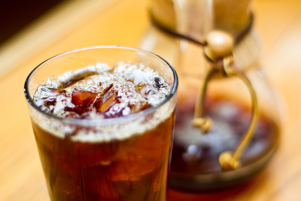 Bright, floral, refreshing. Japanese Iced Coffee.