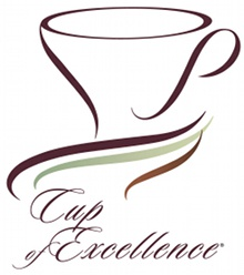 The coveted Cup of Excellence label.
