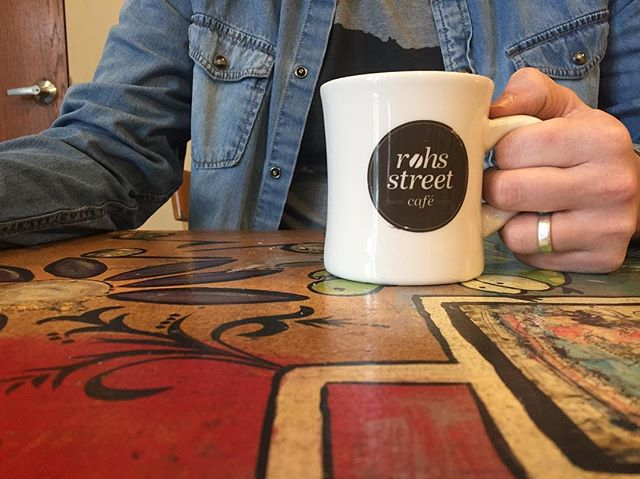 Diner mugs, finally back in stock! And keep your eyes peeled for some long-awaited Rohs merch coming soon... • • • #coffee #specialtycoffee #cincycoffee #rohsstreetcafe