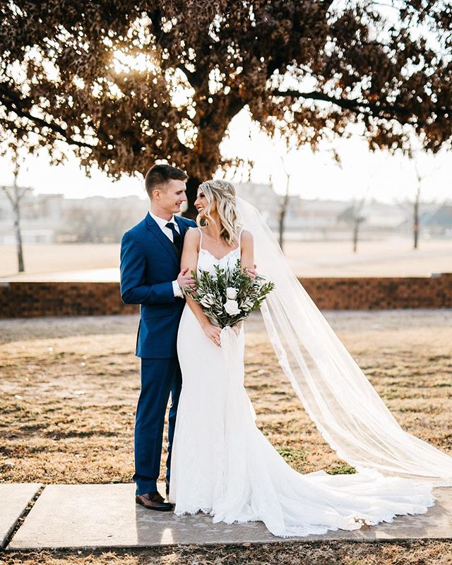been loving seeing these two all over @bridesofoklahoma lately ❤️