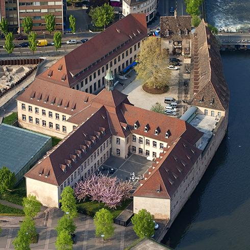 Campus da ENA em Estrasburgo. Foto: ENA.