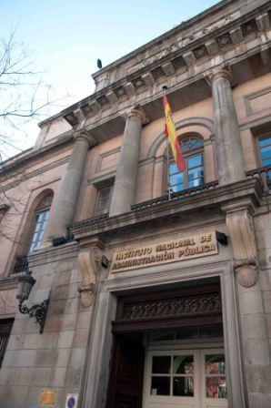 Sede da INAP em Madri, na Espanha. Foto: Divulgação/INAP
