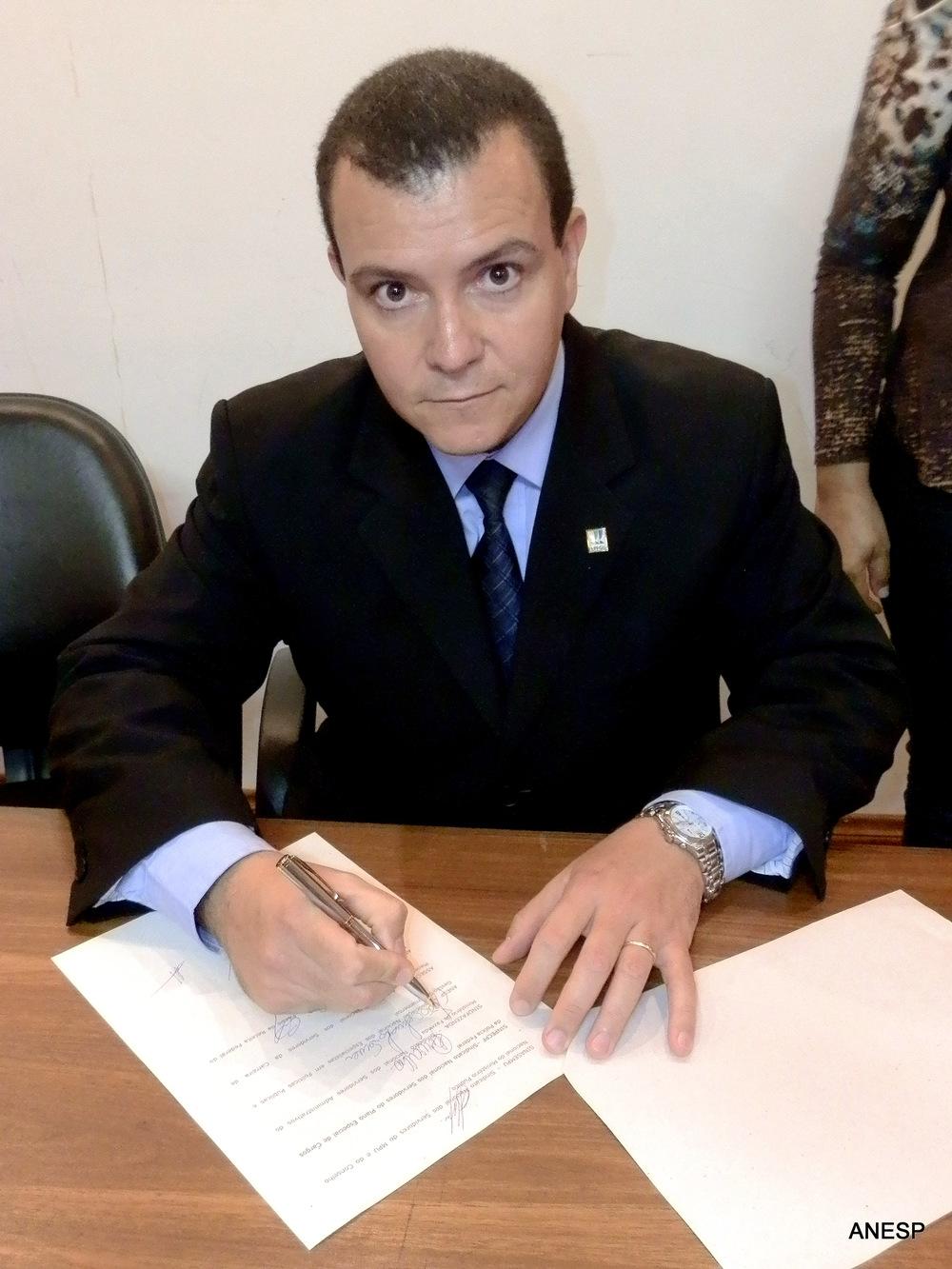 Presidente da ANESP João Aurélio. Foto: Filipe Calmon/ANESP