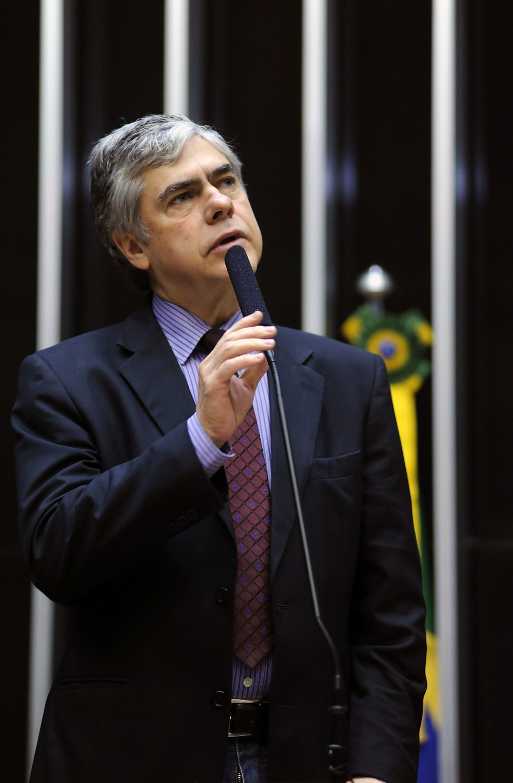 Deputado Augusto Carvalho. Foto: Lucio Bernardo Jr. / Câmara dos Deputados