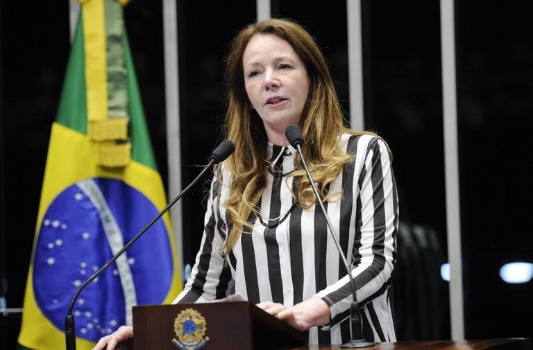 Senadora Vanessa Grazziotin. Foto: Pedro França / Agência Senado