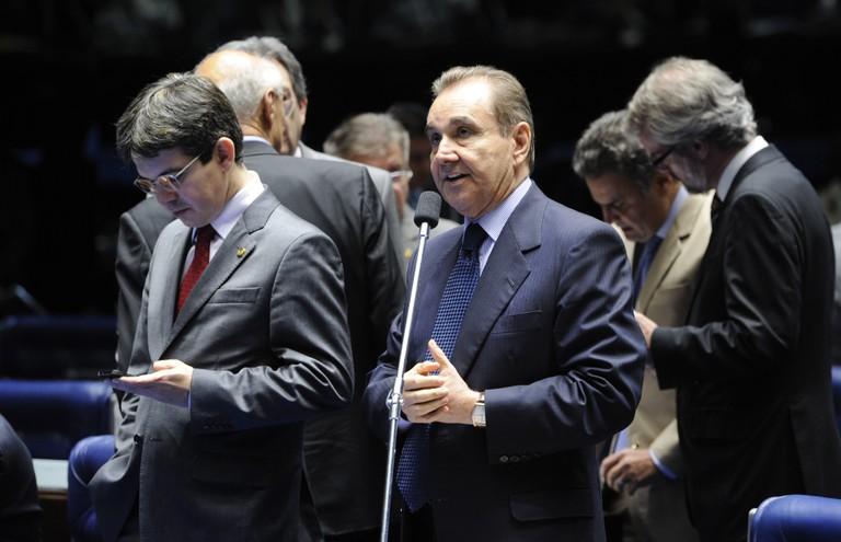 Senador José Agripino é o autor da PEC 34/2013 Foto: Pedro França/ Agência Senado