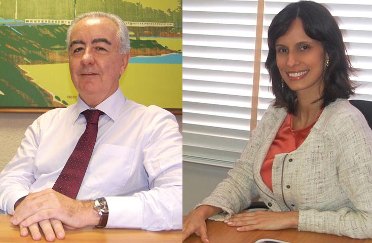 Marcus Cavalcanti e Maria Amélia Amaral Fotos: AGGEB