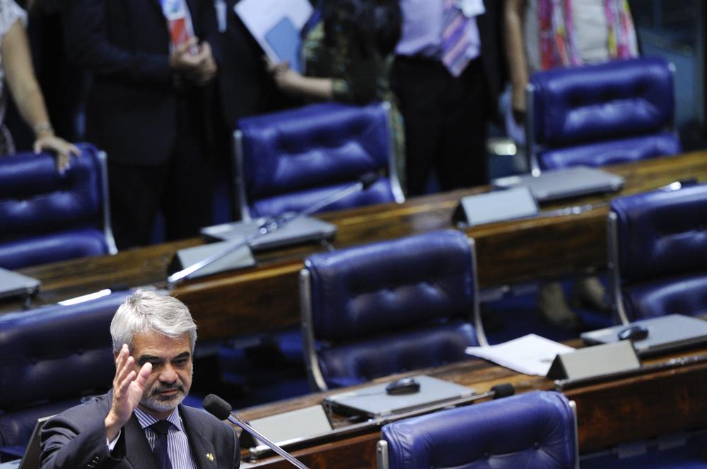 Senador Humberto Costa é o relator da proposta. Foto: Pedro França/Agência Senado