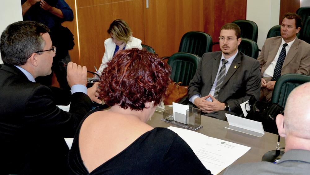 A ANESP foi representada pelo Diretor de Assuntos Parlamentares e Articulação Institucional Cadu de Azevedo. Foto: Filipe Calmon / ANESP