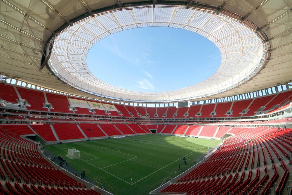 Estádio Nacional de Brasília. Foto: Portal da Copa