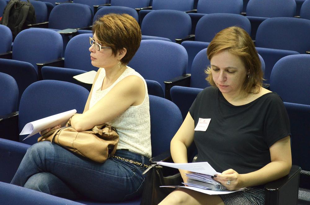 Associadas no auditório do CCBB. Foto: Filipe Calmon / ANESP