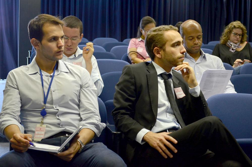 Paulo Brunet e Matheus Azevedo, Coordenador Executivo e Diretor de Comunicação da ANESP.
