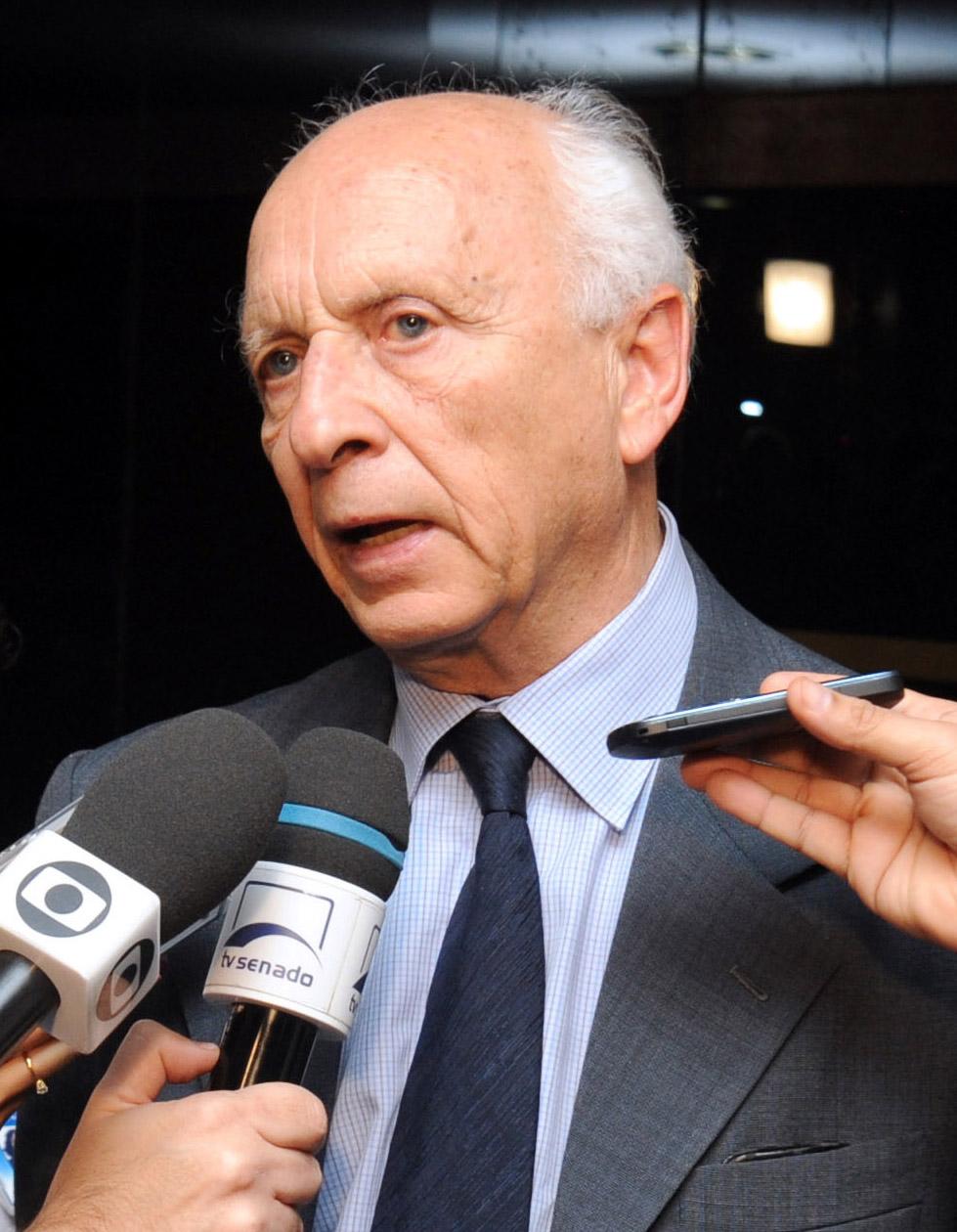 Embaixador Rubens Ricupero. Agência Senado