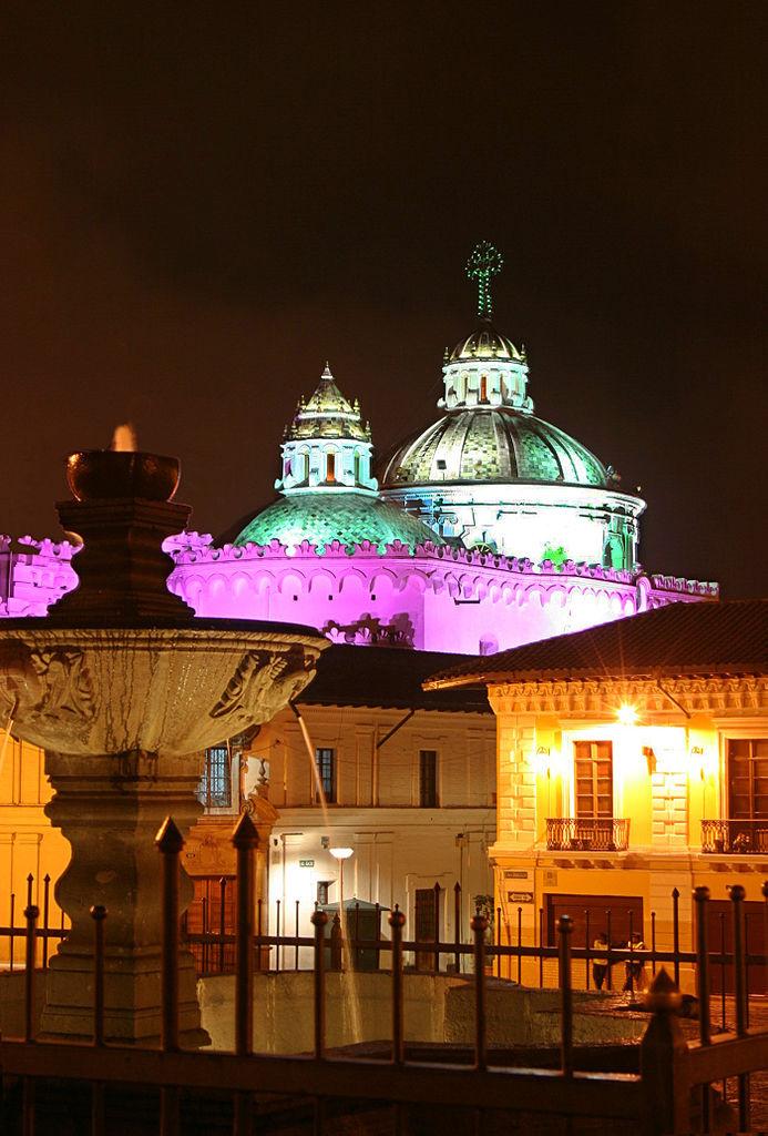 Centro histórico de Quito, Equador. Foto:Dr. Carlos Costales Terán.